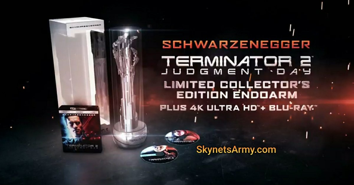 Terminator 2: Judgment Day Endoarm Collectors Edition 4K Ultra HD [Blu-ray + Digital HD]-