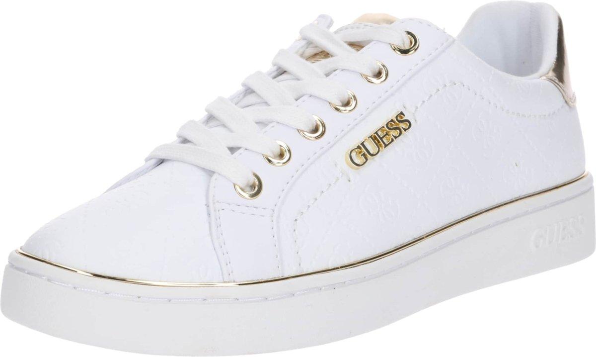 Guess sneakers laag beckie Goud 35