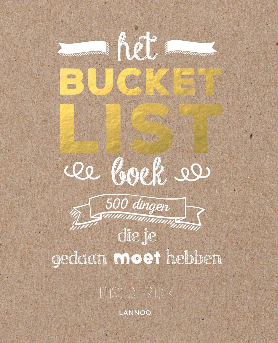 Afbeelding voor Het Bucketlist-boek