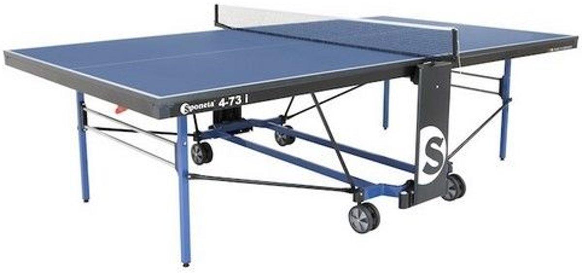 Sponeta Indoor Tafeltennistafel S4-73i Expertline - Blauw kopen