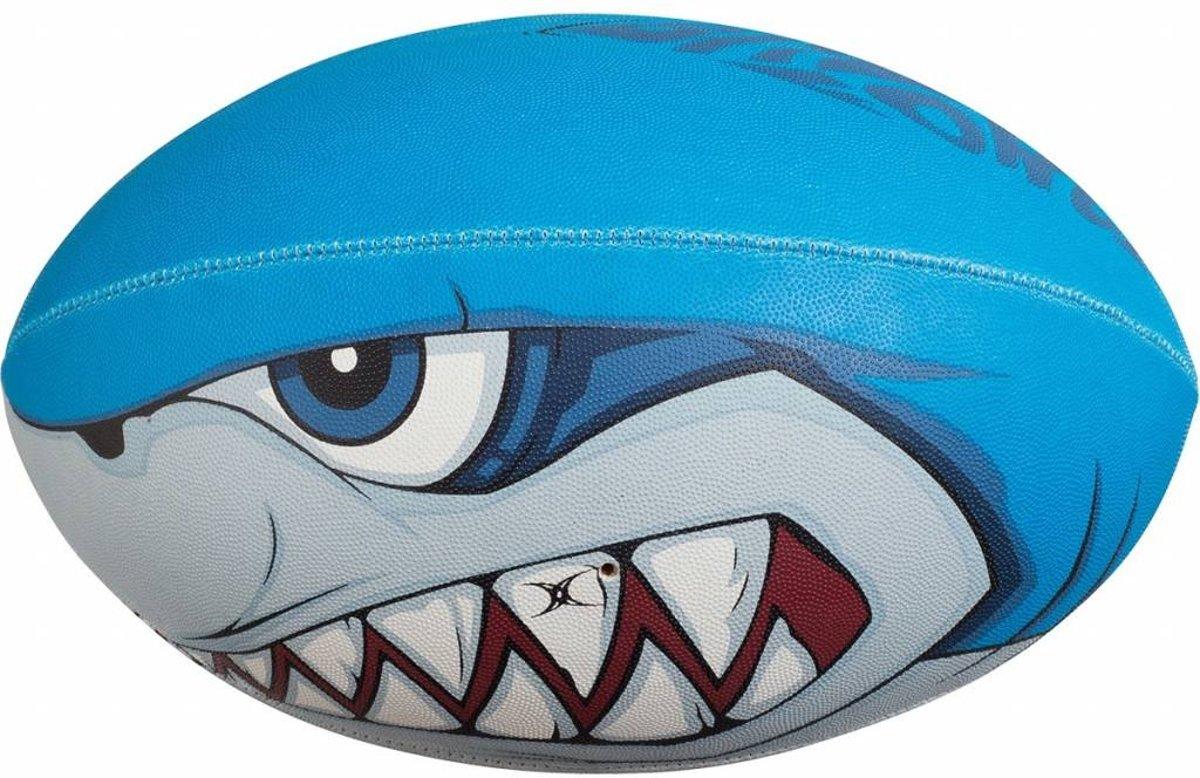 Gilbert Rugbybal Bite Force Blauw 5 kopen