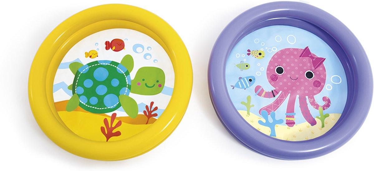 Intex Baby zwembad met bedrukte Bodem - 61x15cm
