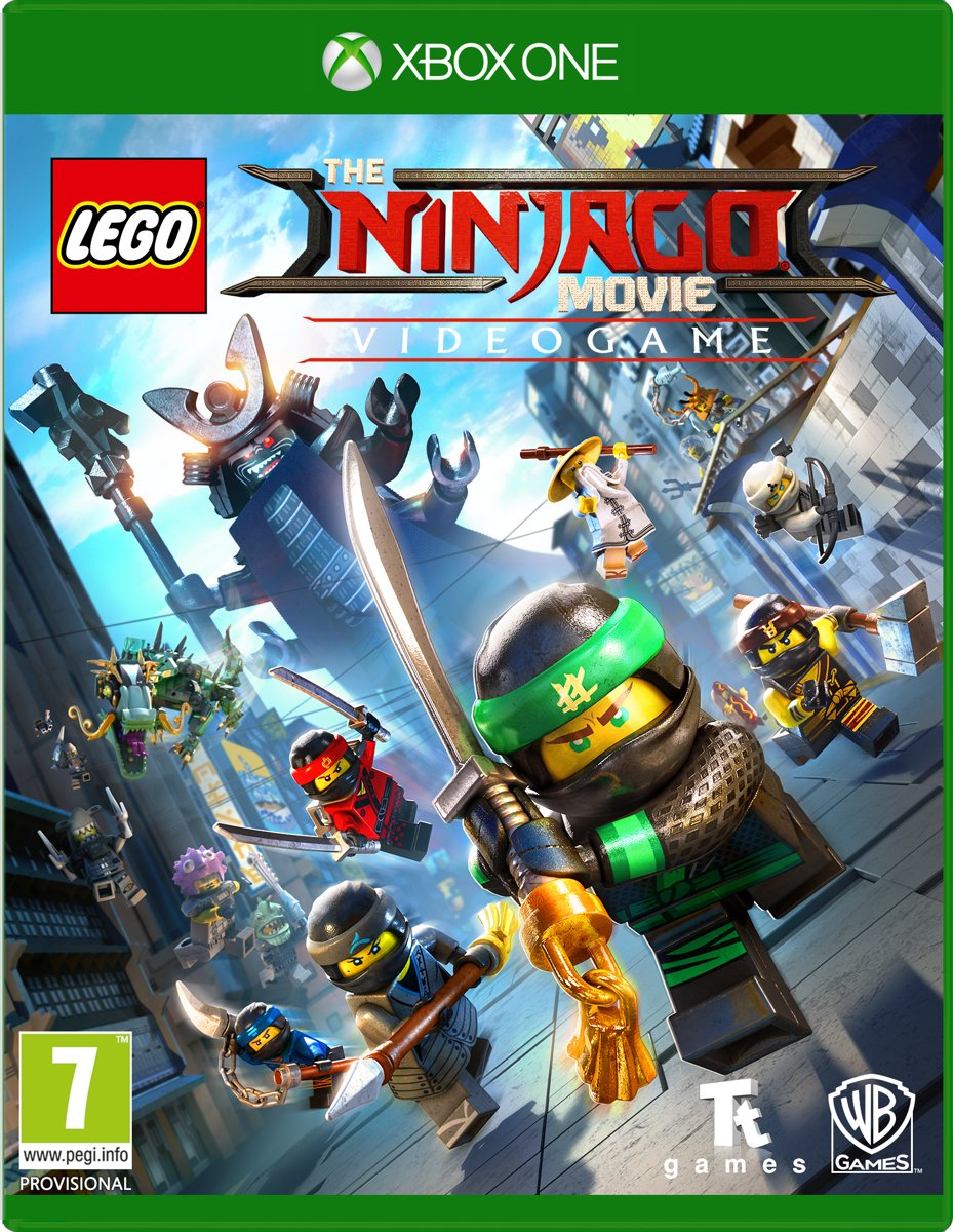 LEGO Ninjago Movie The Game Xbox One