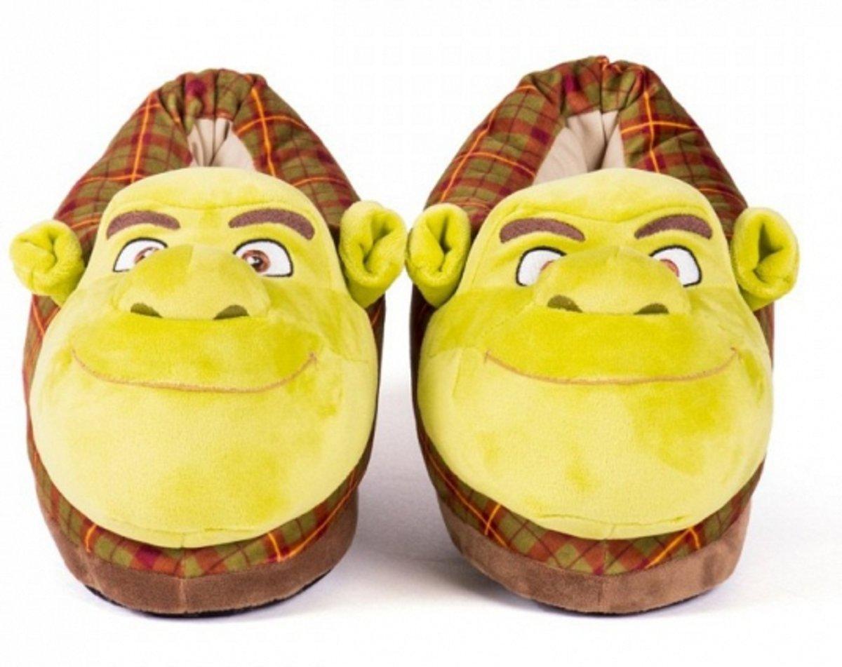 Adultes Pantoufles Shrek ePRmeCew