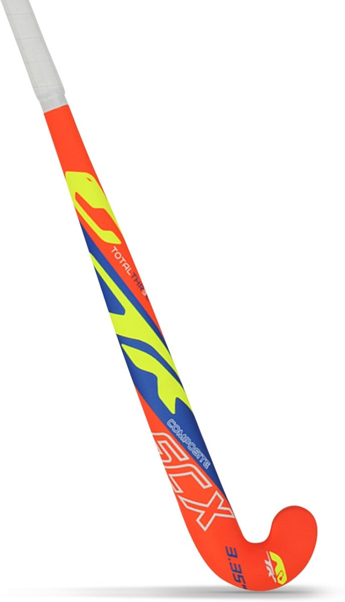 TK Total Three Junior Indoor hockeystick - Sticks  - oranje - 32 kopen