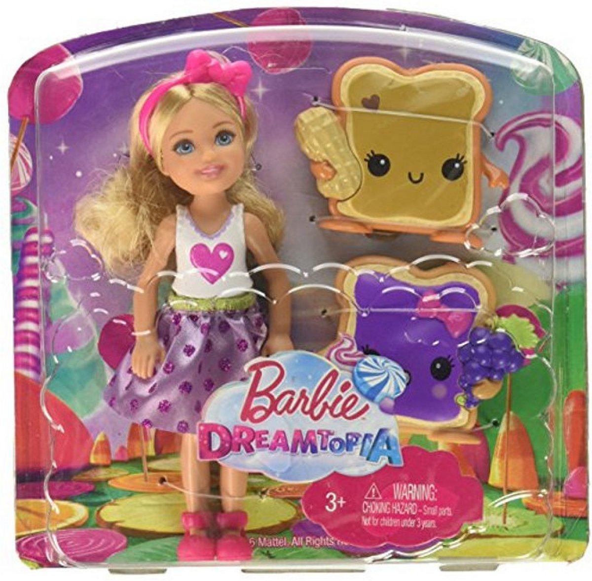 Barbie Dreamtopia Chelsea met boterhammetjes