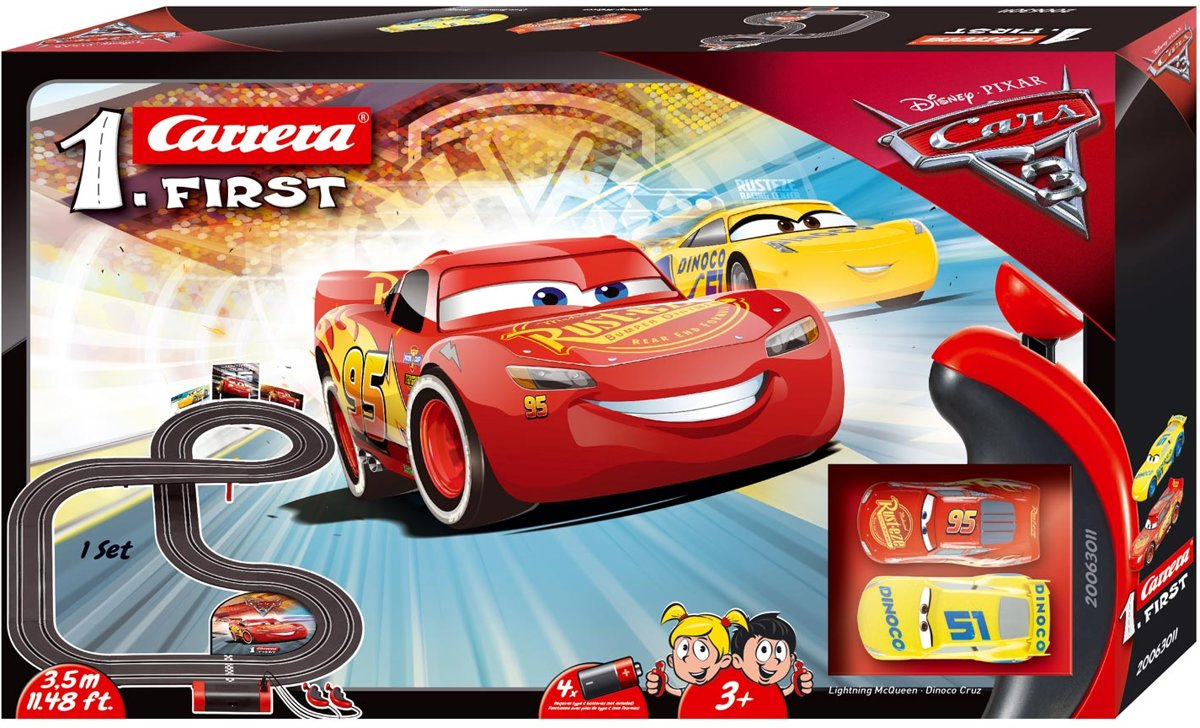 Carrera First Disney·Pixar Cars 3 - 3,5 m