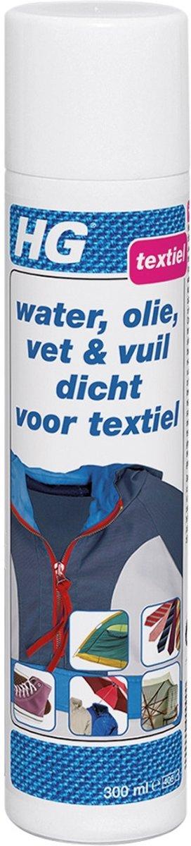 HG Water, Olie, Vet & Vuil Dicht Voor Textiel - 300 ml kopen
