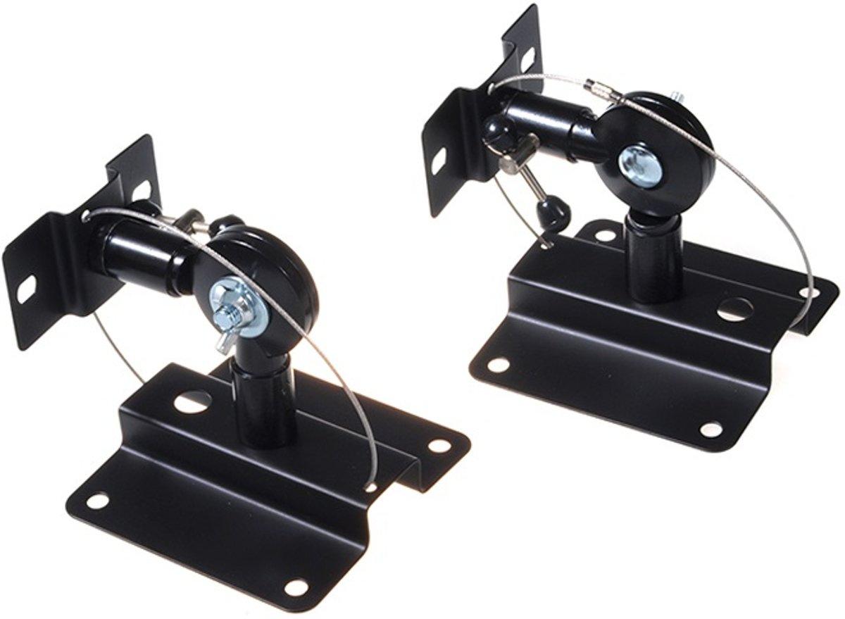 Maclean Brackets MC-552 - Luidspreker muurbeugel voor speakers set 2 stuks Zwart kopen