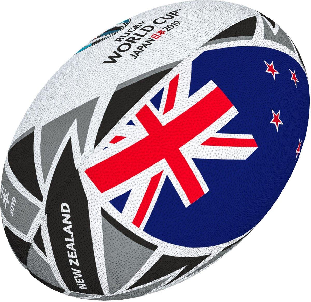 Gilbert World Cup 2019 New Zealand Flag Rugbybal maat 5 kopen