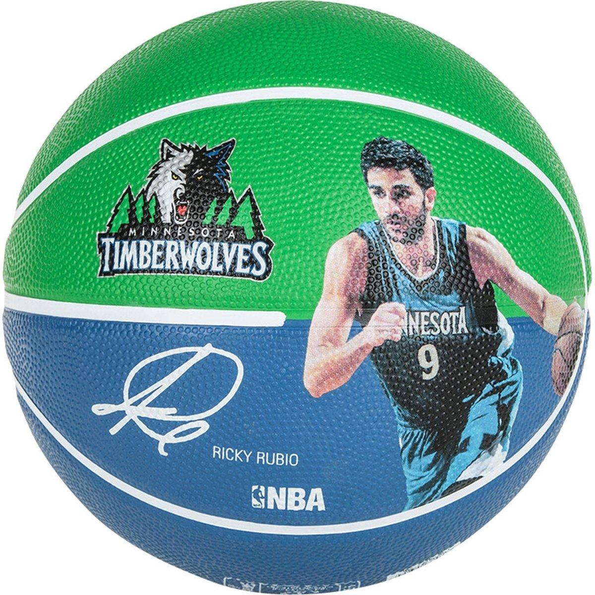 Spalding Basketbal NBA Ricky Rubio Groen/Navy kopen