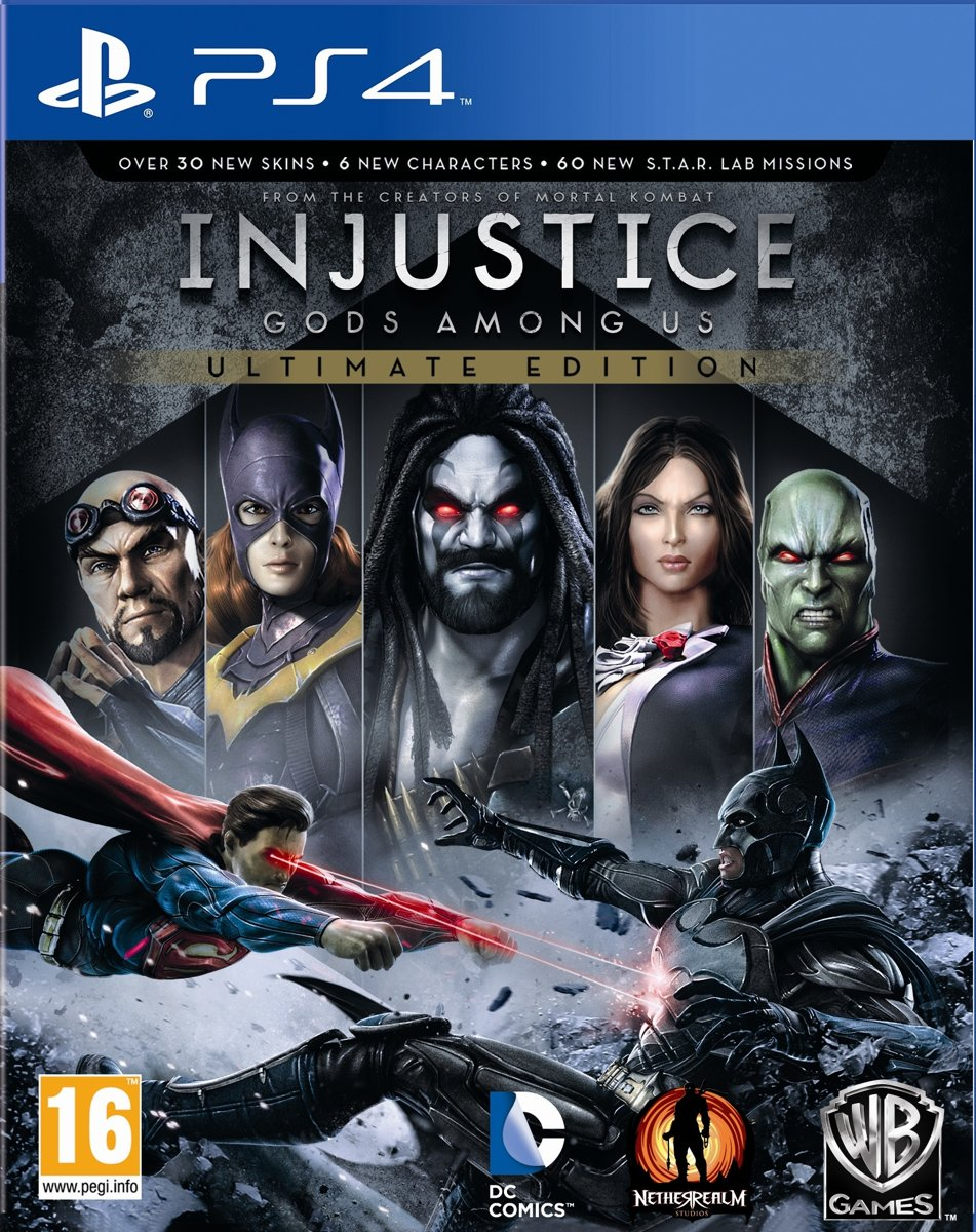 Injustice: Gods Among Us - Game of the Year Edition PlayStation 4