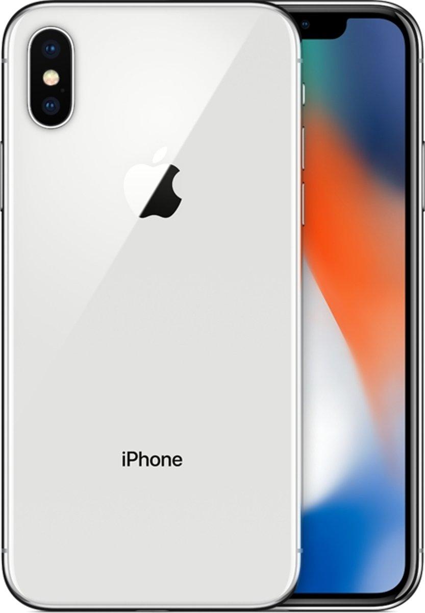 Apple iPhone X 64GB MQAD2ZD/A zilver kopen