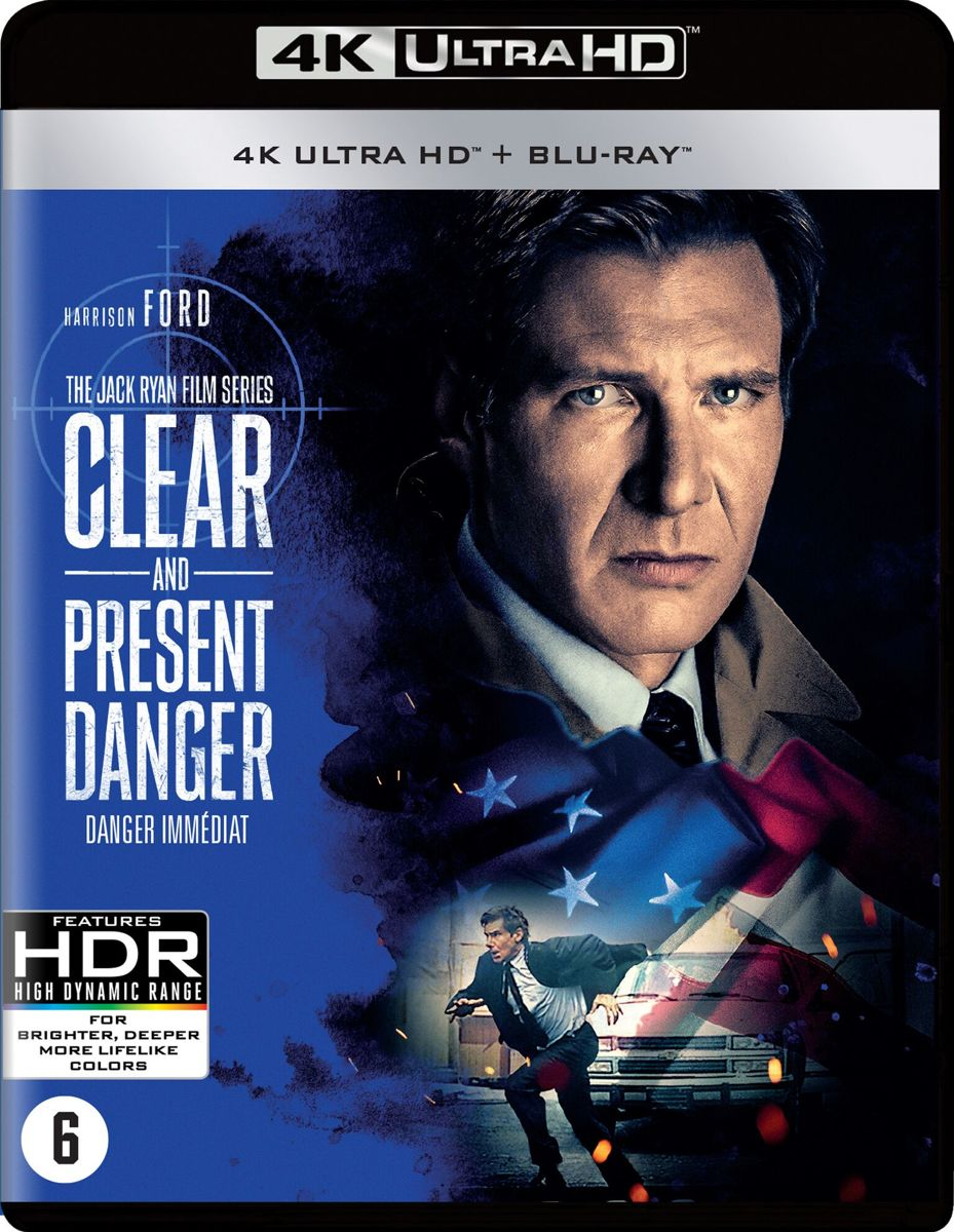 Clear And Present Danger (4K Ultra Hd Blu-ray)-