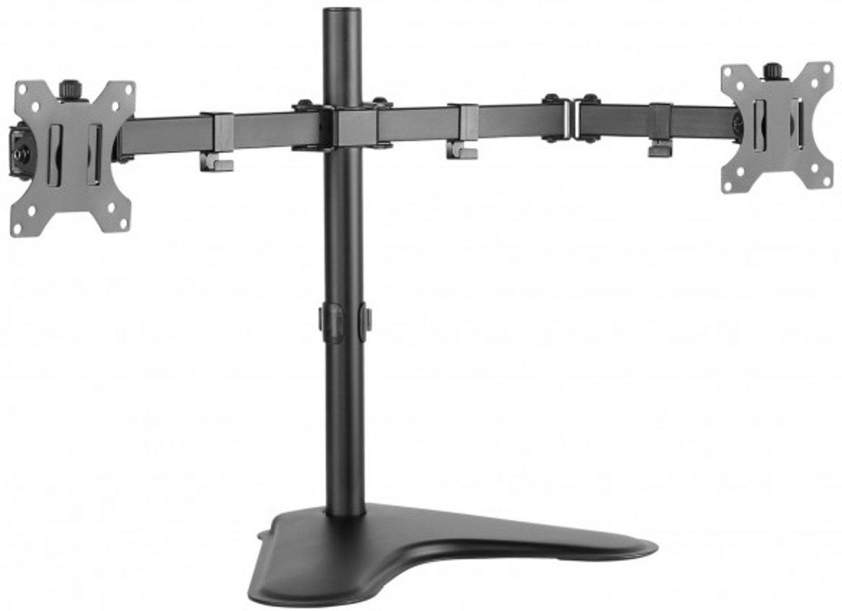Techly ICA-LCD 2524 flat panel bureau steun 81,3 cm (32'') Schroeven Zwart kopen
