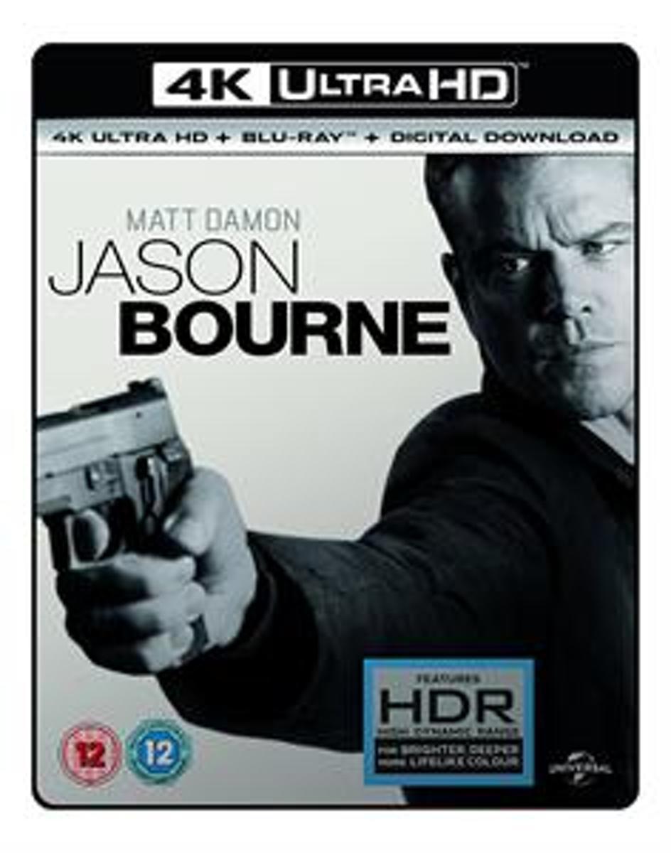 Jason Bourne 4K UHD + blu-ray (Import)-