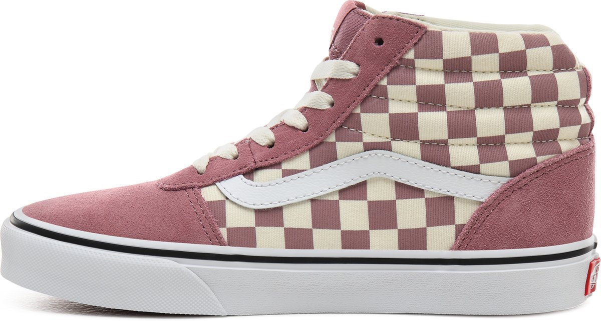 Vans Wm Ward Hi Dames Sneakers (Patchwork) CheckerRose Maat 40