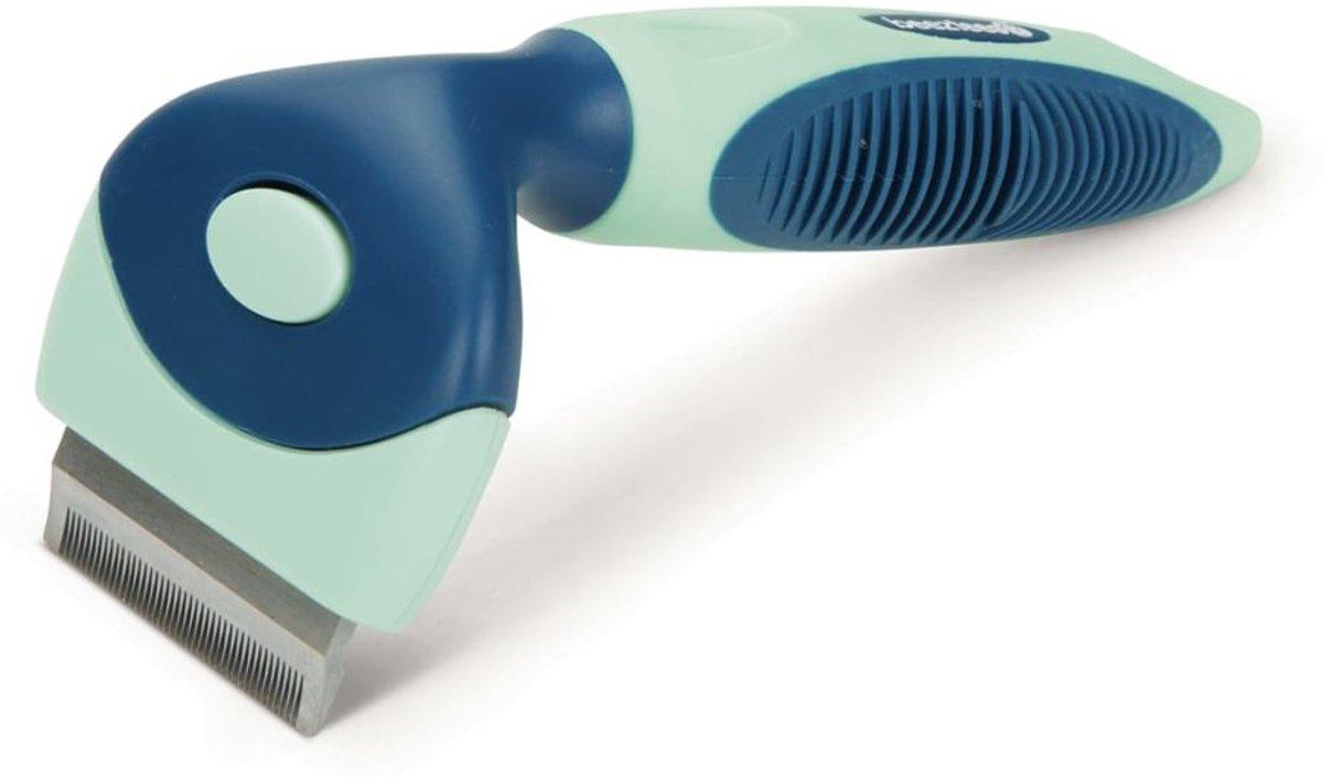Beeztees Trimhark klein blauw en mint 661543 kopen