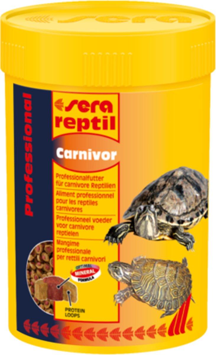 Sera reptil Professional Carnivor - 330g - Reptielenvoer