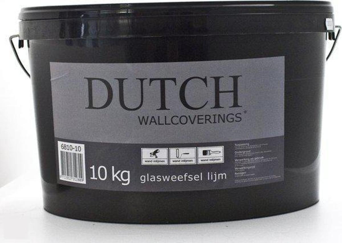 Dutch Wallcoverings Glasweefsellijm Dutch emmer 10 kg kopen