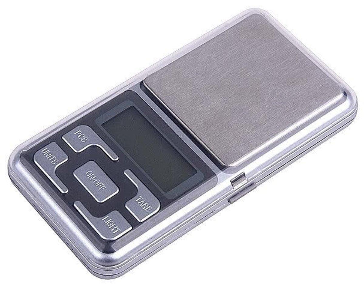 POCKET WEEGSCHAAL TOT 500GRAM 0,1 gram