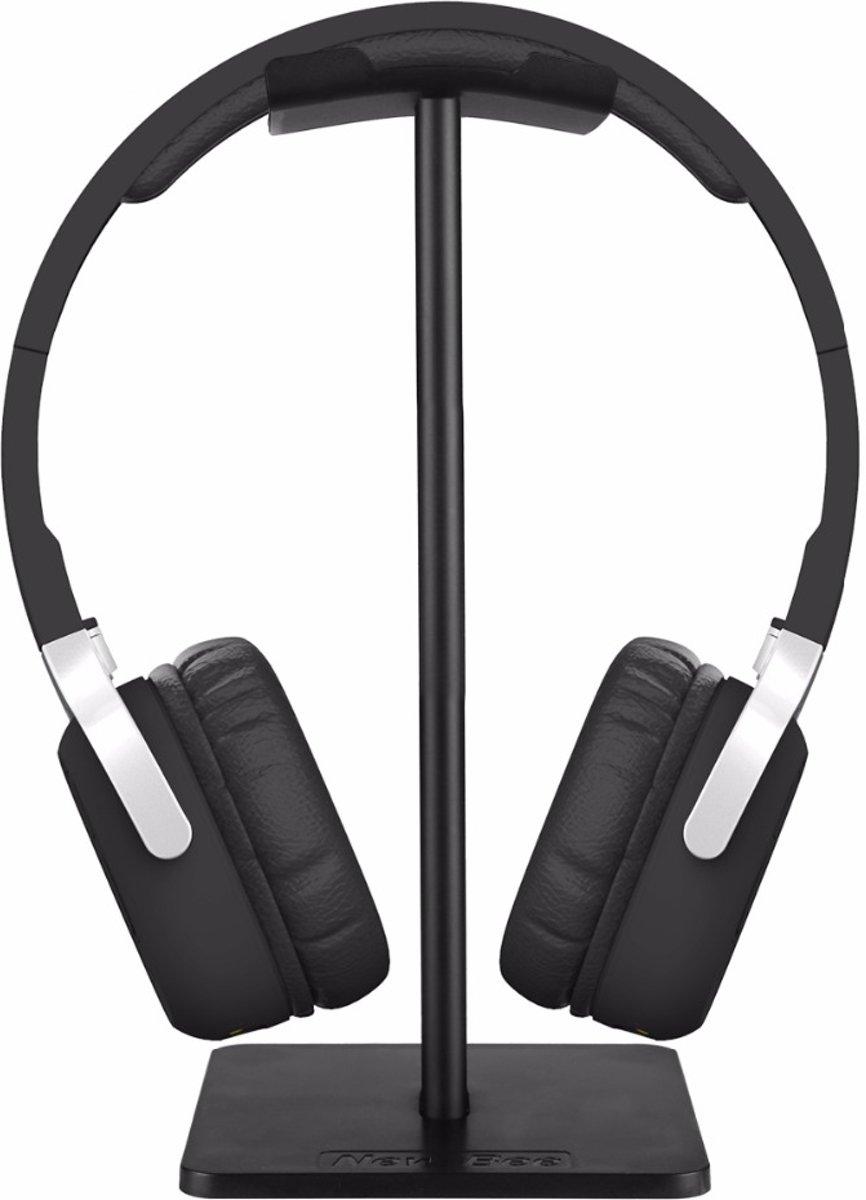 Koptelefoon Houder - Staande Headset Houder - Hoofdtelefoon Stand / Standaard - Zwart kopen