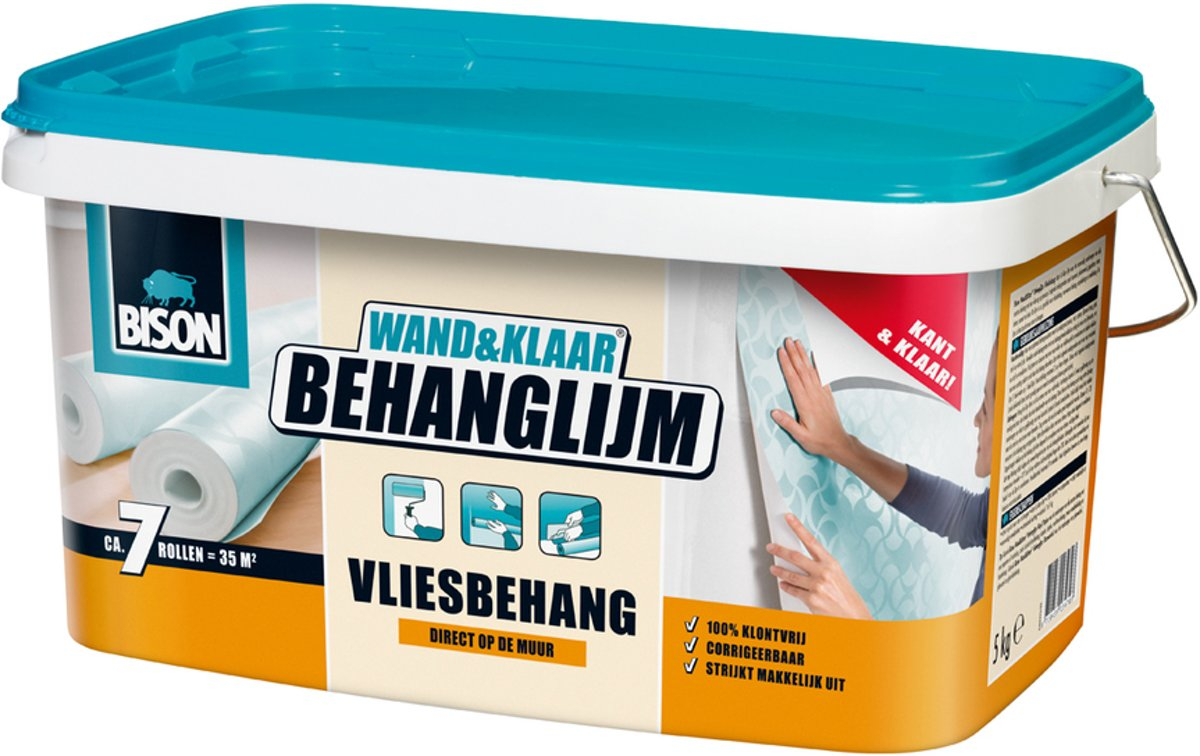 Bison Wand & Klaar Behanglijm Vliesbehang - 5 kg kopen