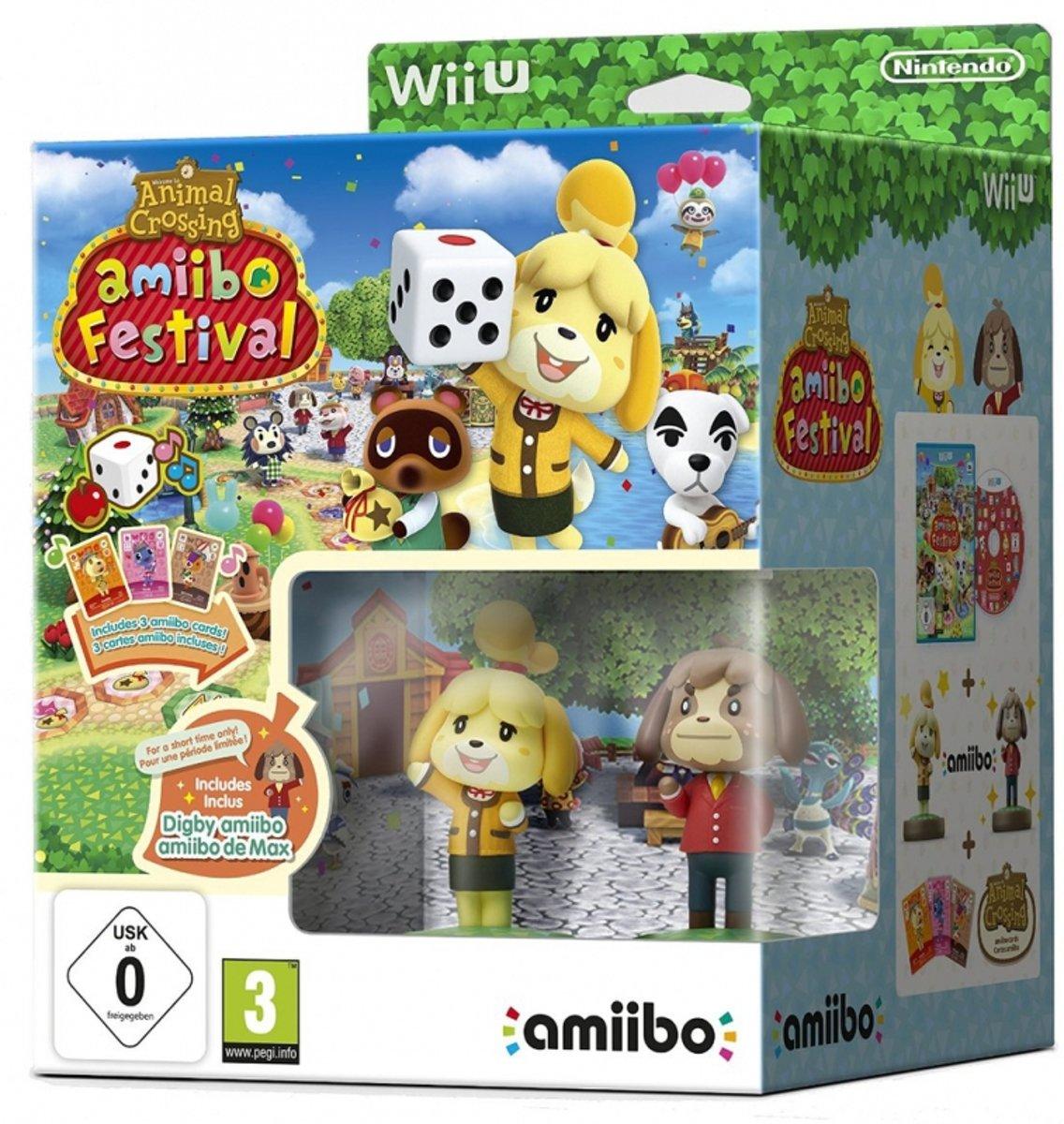 Animal Crossing: AmIIbo Festival + 2 AmIIbos & 3 AmIIbo Cards (WII U) voor €12