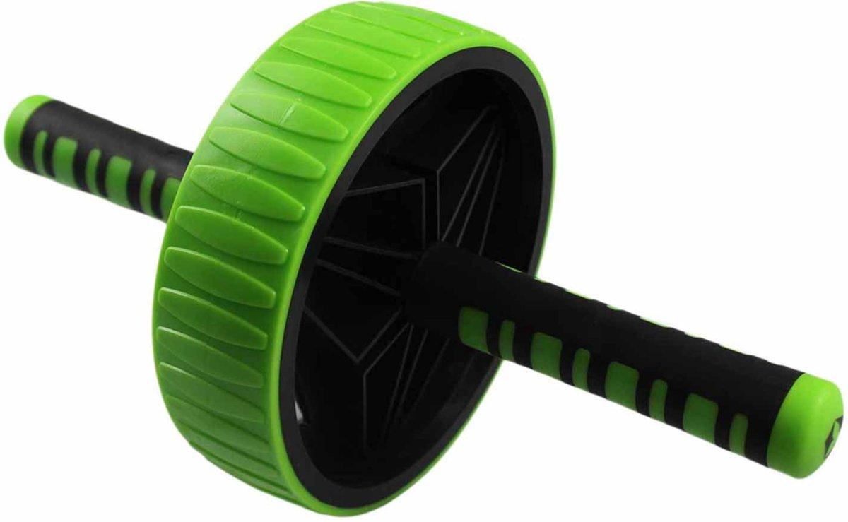 #DoYourFitness - Buikspiertrainer - »TheBodyWheel« - AB-Roller - geschikt voor meerdere spiergroepen - groen kopen