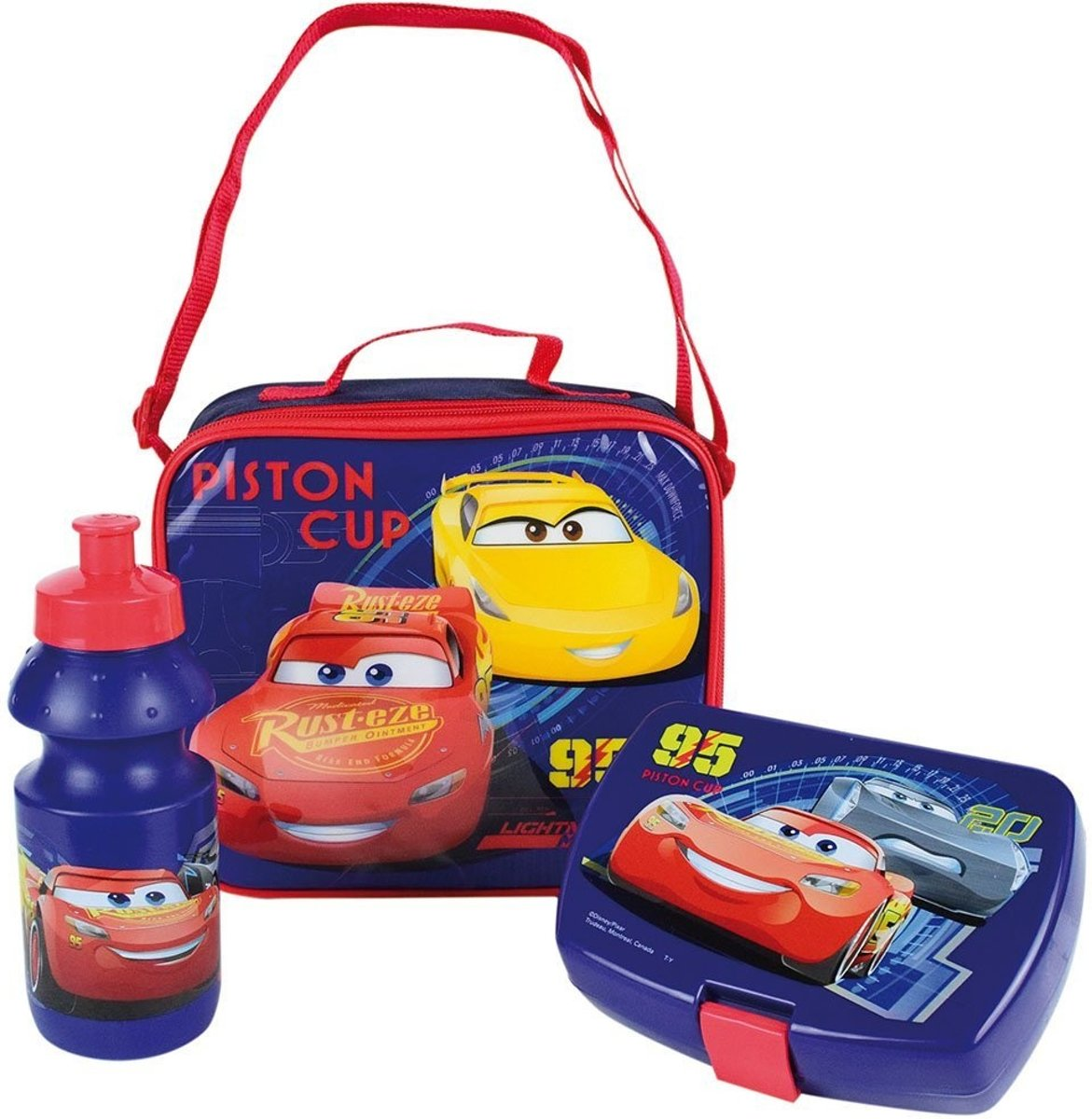 | Disney Cars schoudertas Inclusief broodtrommel