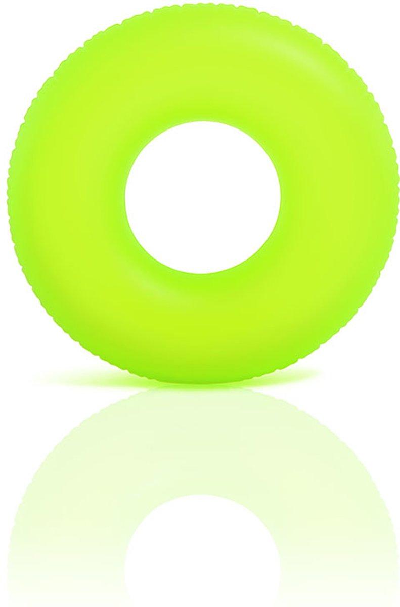 Intex Neon frost zwemring 91 cm geel