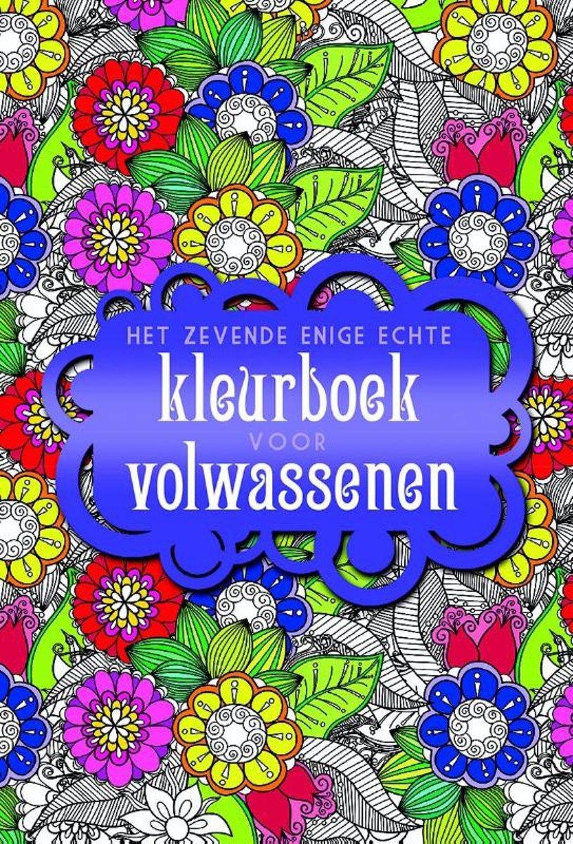 Kleurplaten Voor Volwassenen Op Reis.Bol Com Het Zevende Enige Echte Kleurboek Voor Volwassenen