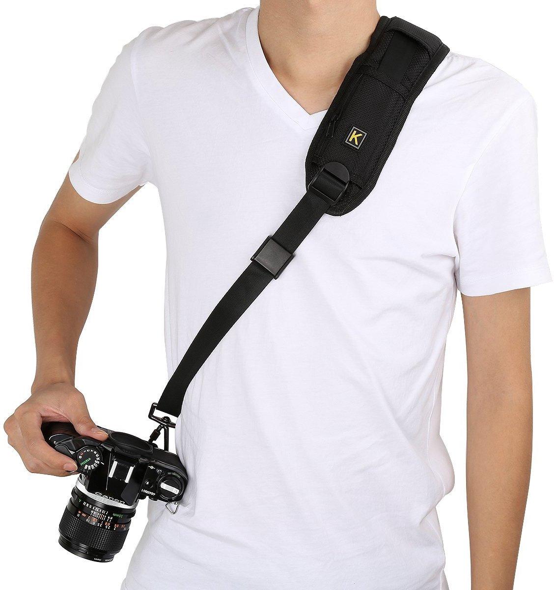 Quick Strap Camerariem DSLR - Luxe Draagriem Camera Strap kopen