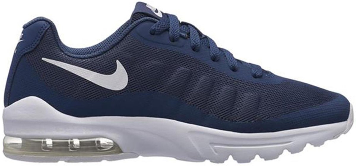 Nike Air Max Invigor (PS) sneakers jongens marinewit