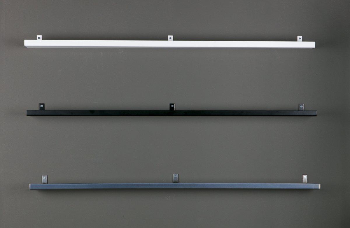 Fotoplank 120 Cm.Bol Com Vtwonen Wandplank Metaal Wit 120 Cm