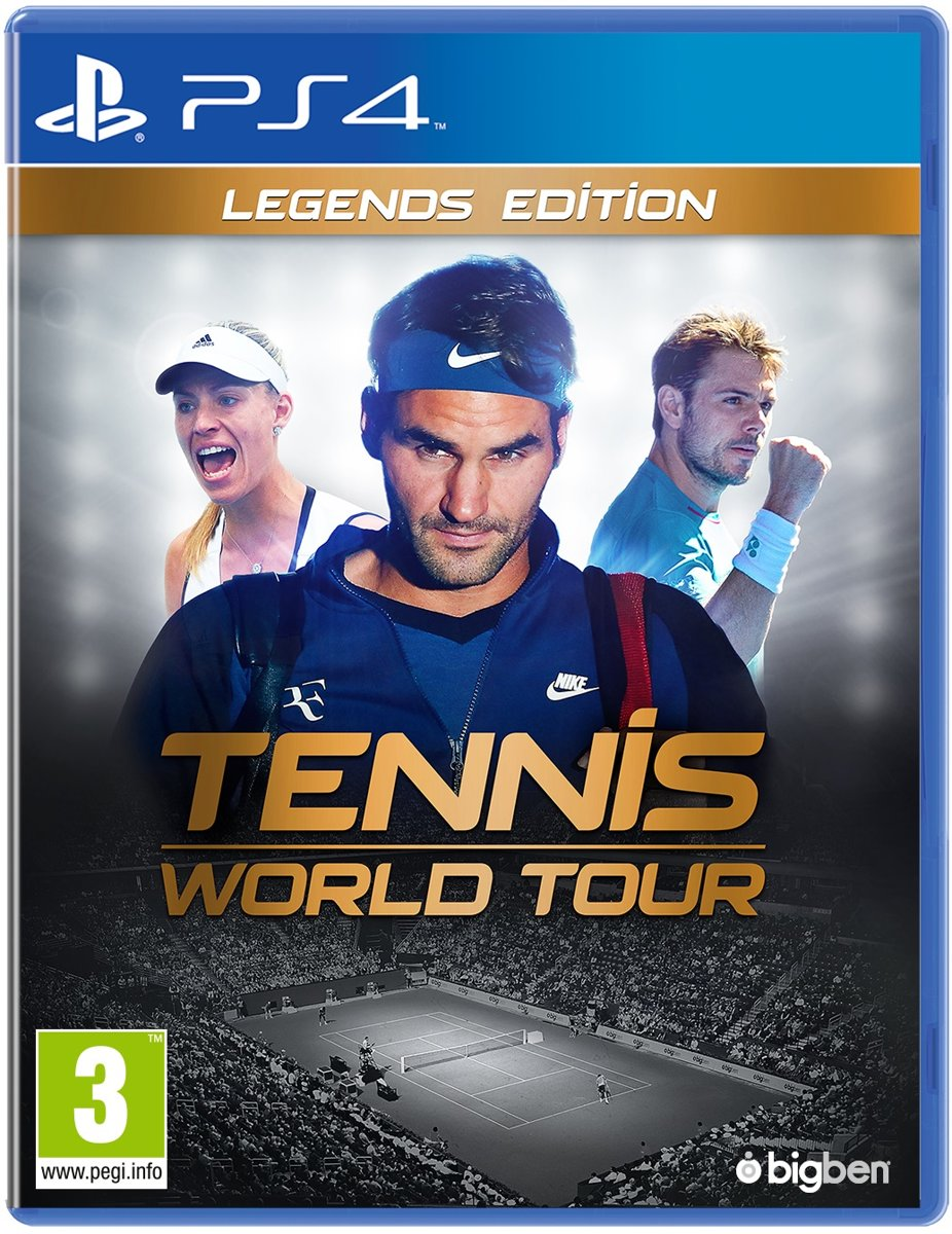 Tennis World Tour Legends Edition PlayStation 4