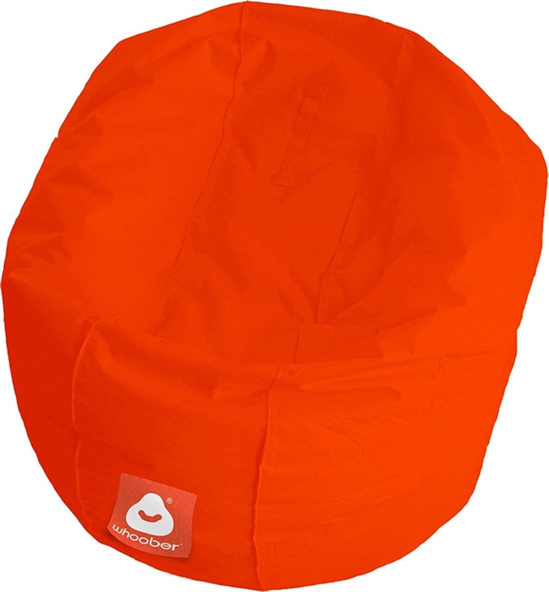 """LC Ronde Zitzak """"Ibiza"""" M outdoor donker oranje - Geschikt voor buiten - Wasbaar kopen"""