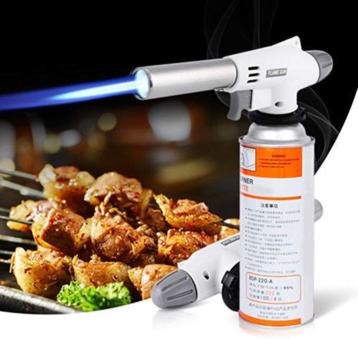 Multi Gasbrander - Butaangas Brander - Creme Brulee Butaan Gas Vuuwerk Keuken Soldeer Aansteker kopen