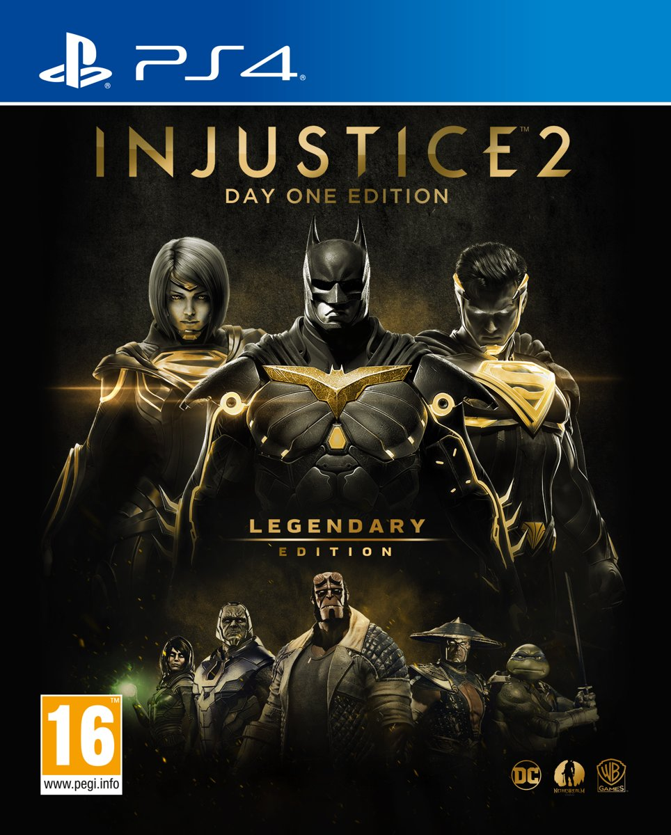 Injustice 2 - Legendary Edition (Day One Edition) PlayStation 4