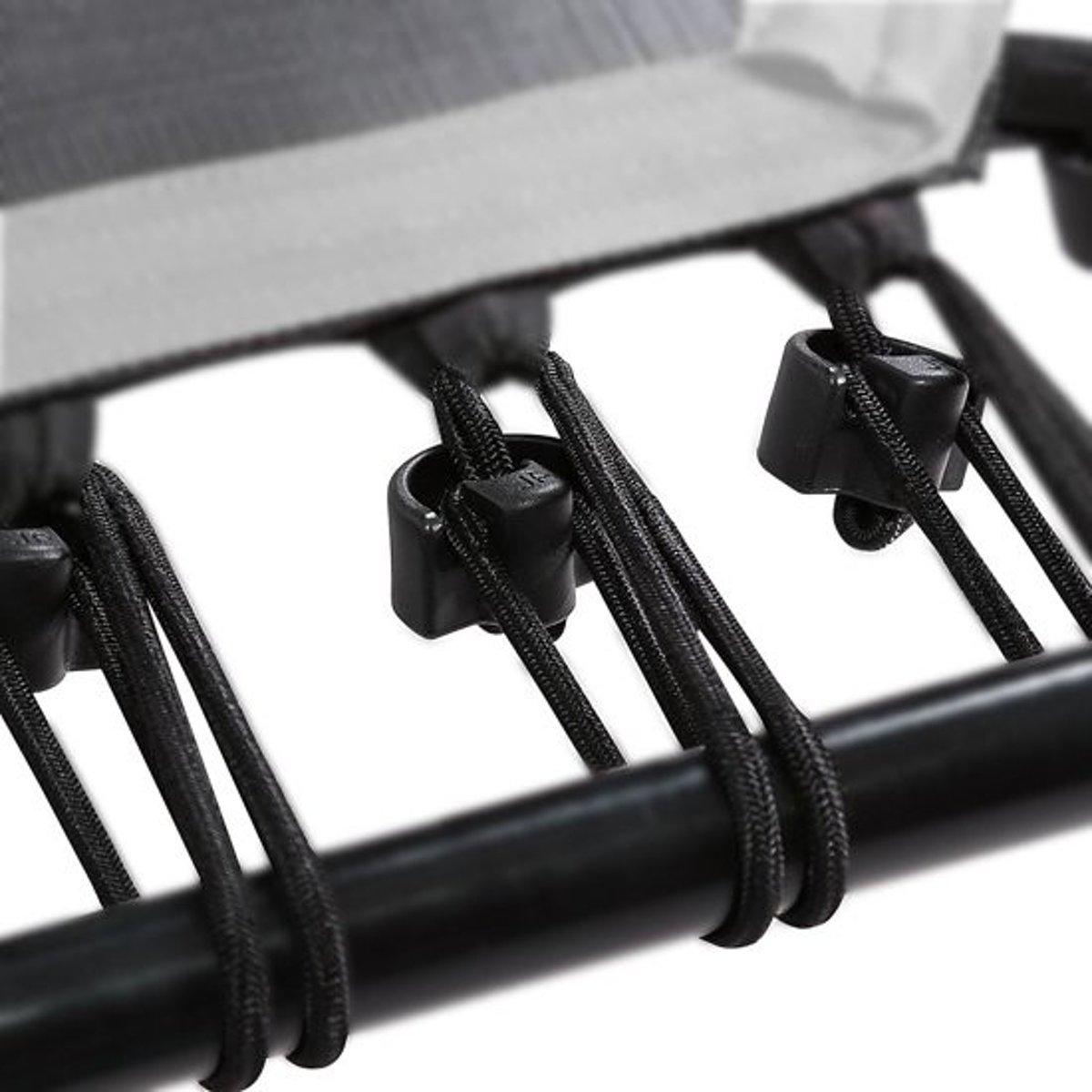 SportPlus SP-T-110-BS -trampoline 110cm -Reserve-Elastieken 36 stuks Zwart (90-130kg)