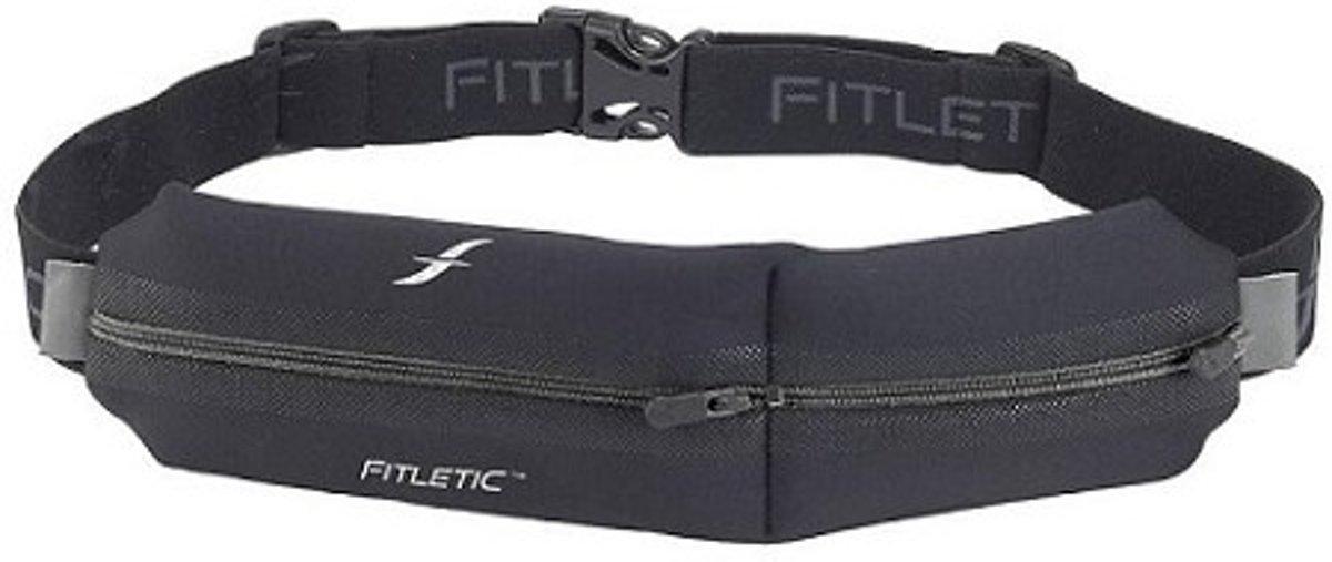 iFitness Double Pouch Heupband Zwart kopen