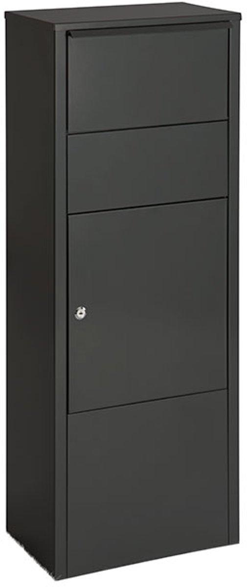 Vrijstaande pakketbrievenbus Hannover B720N zwart