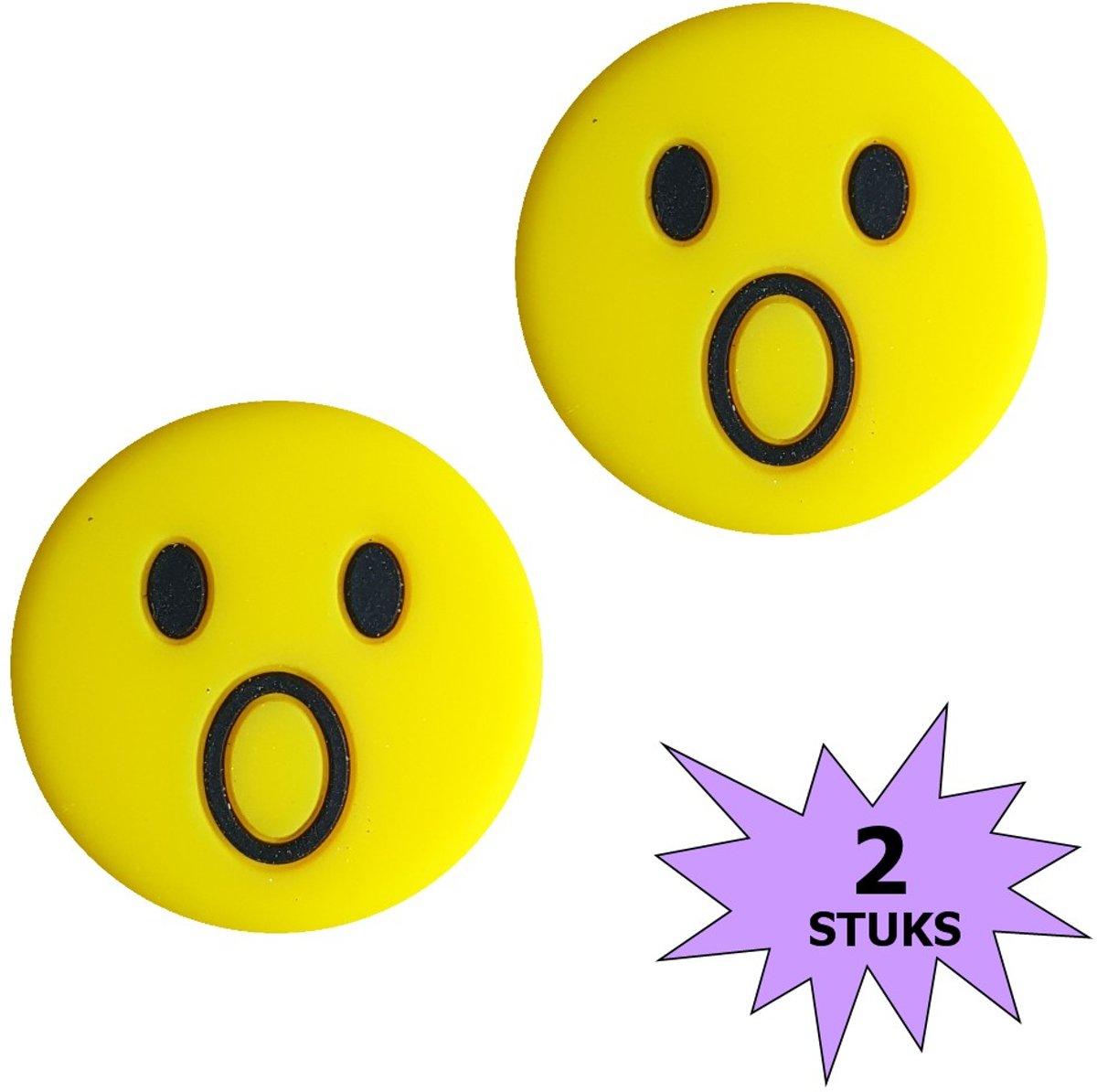 Fako Bijoux® - Tennisdemper - Emoji - Verbaasd - 2 Stuks kopen