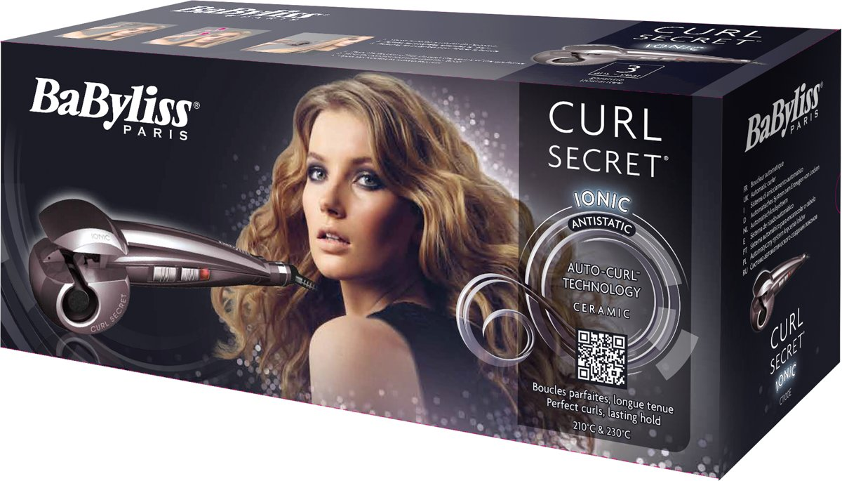 Bolcom Babyliss C1100e Curl Secret Ionic Automatische Krultang