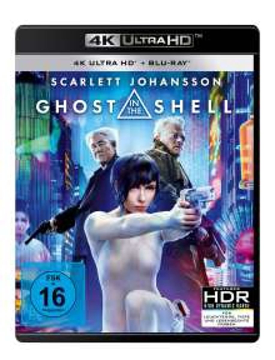 Ghost in the Shell (2017) (Ultra HD Blu-ray & Blu-ray)-