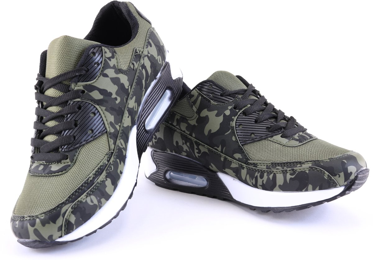 899562e3b1b Genoeg bol.com | Heren/Dames Camouflage sneakers Running Schoenen #LE47
