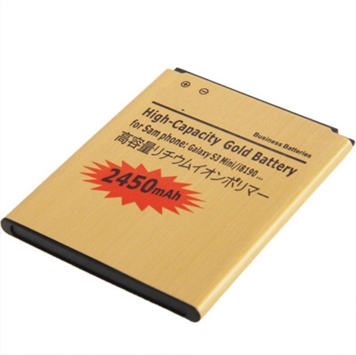 2450mAh hoge capaciteit Gold Business batterij voor Galaxy SIII mini / i8190 kopen