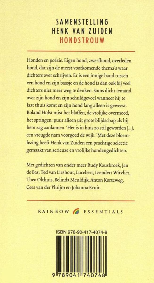 Bolcom Hondstrouw Onbekend 9789041740748 Boeken