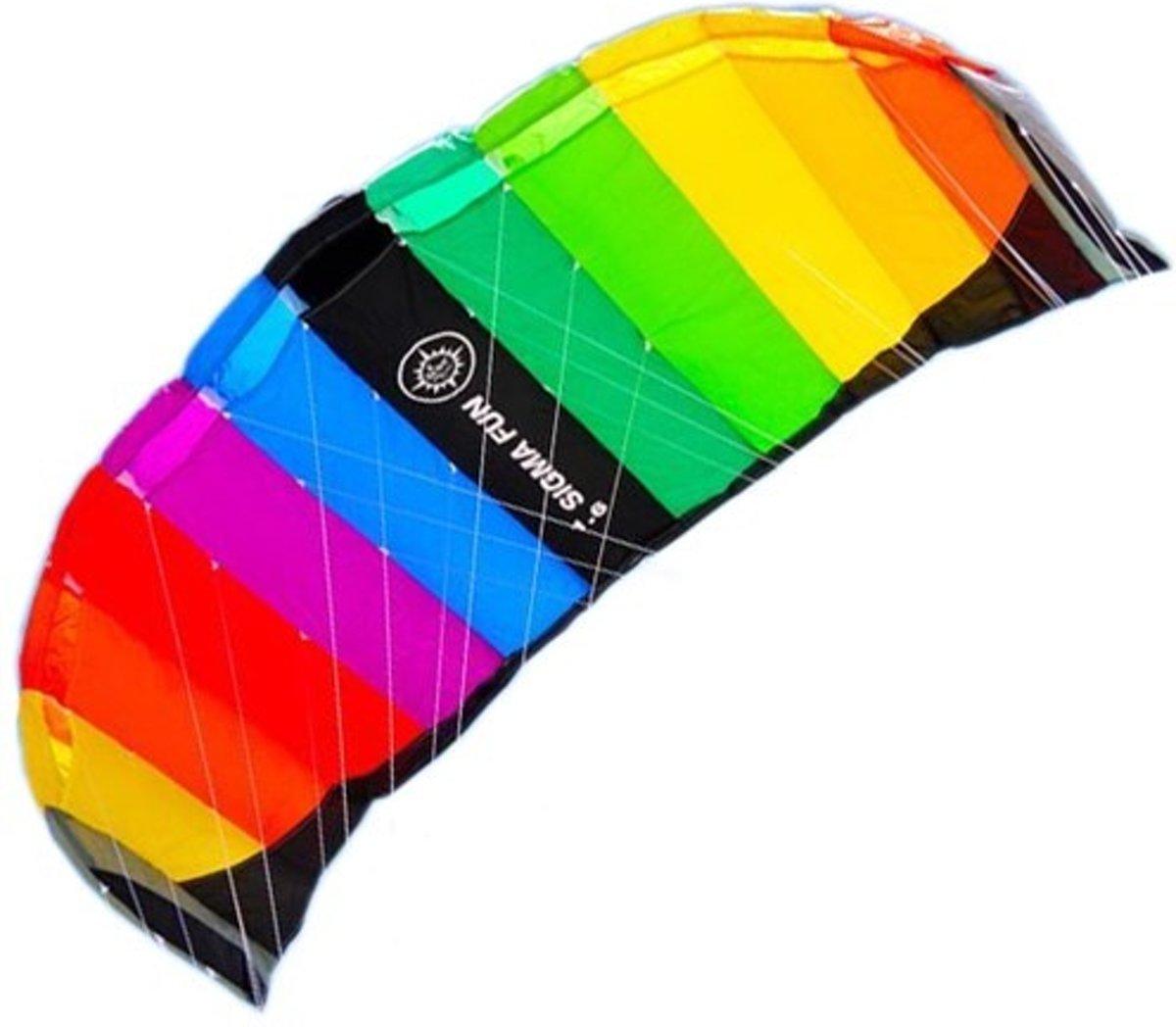 Elliot Sigma Fun Rainbow - Matrasvlieger - 165cm spanwijdte
