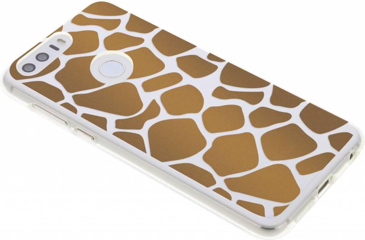 Animaux Brun Conception Imprimé Girafe Cas Tpu Pour Sony Xperia Xa Ctciu3t